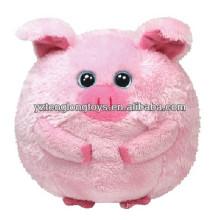 Beförderung! Schöne fette Schwein Plüsch Ball Spielzeug in Tier-Stil
