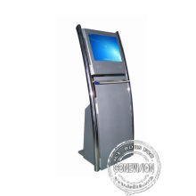 Metal Shell Touch Screen Kiosk 19 Inch With Interactive Panel Windows I3