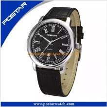 Vogue Watch High Quality Men Watch Genuine Leather Strap Watch