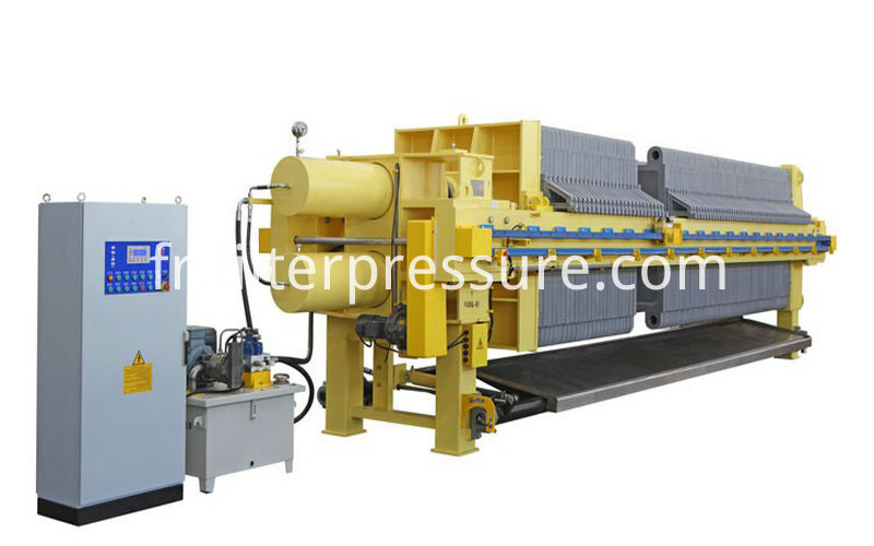 Starch Chamber Membrane Filter Press 1