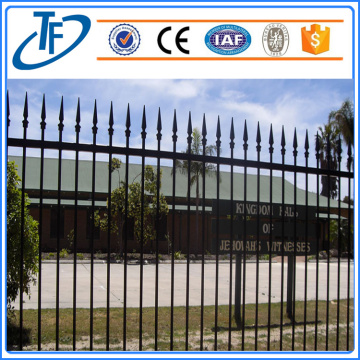 Black Heavty Duty Security garrison fence panel