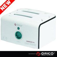 ORICO 8628SUSC-PRO Dual / 2 / 2bay, USB 2.0 + eSATA, station d'accueil HDD, clone Clone duplicateur de disque dur