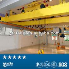 30 t Overhead Crane avec palan électrique utilisation intérieure usine stockage double faisceau, rendement élevé