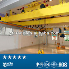 30t Overhead Crane with Electric Hoist indoor use factory storage,double beam,high efficiency