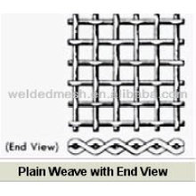 Scalping Weaving Crimped Wire Mesh