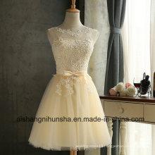 Elegant Lace Dress Sleeveless Tuxedo Exy Slim Christmas Party Dress