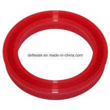 Torno CNC Selo de pistão Selante de eixo U-Cup Material de poliuretano
