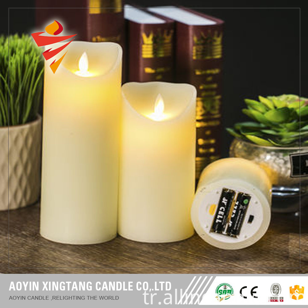 12 colors led candle
