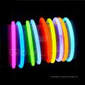 pulseras de goma brillan en la oscuridad de encargo gruesa