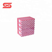 Multipurpose desk storage box 4 layer small plastic drawers for sale