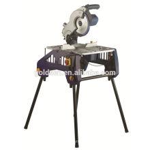 Coupe de coupe en aluminium de 250 mm 1800w Découpe sur scie Scie à table en bois à scie électrique