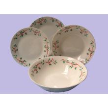 Ensemble de dîner en porcelaine 12,16,20pcs céramique ustensiles de cuisine assortiment de vaisselle