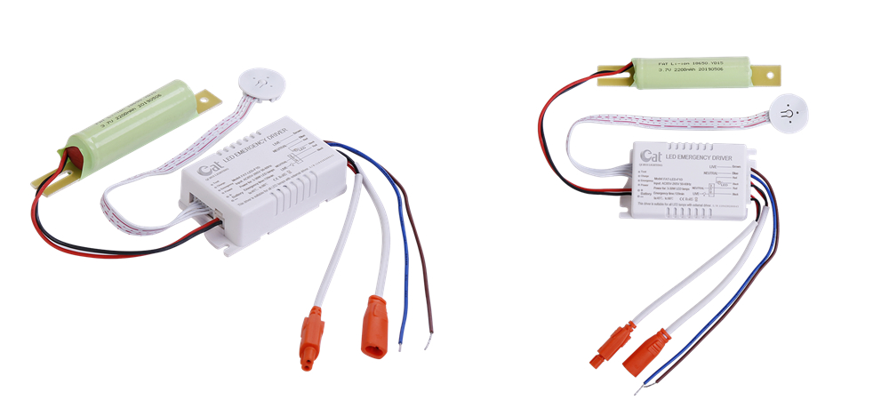 ABS shell led emergency driver
