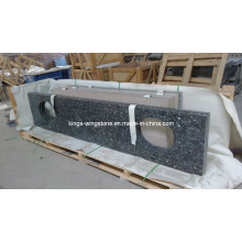 Silver Pearl Blue Pearl Blue Brown Granite Kitchen Countertop