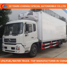 Dongfeng 4X2 gekühlter Van-LKW / Gefriermaschine-LKW / Kühlraum-LKW / gekühlter LKW