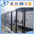 Anti climb fencing panels
