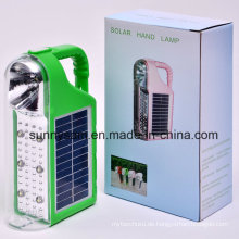 Tragbare Camping-Laterne-Lampe Solarimportable LED Solar