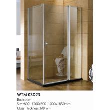 Porte de douche pliante pour un bon prix Wtm-03D23