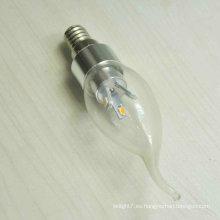 Elegent 3w llevado luz de la vela E14 Moderno barato arañas SMD5630