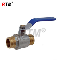 Brass Ball Valve with blue handle