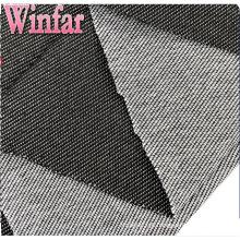 Malha têxtil fábrica de poliéster Denim tecido para calças de brim