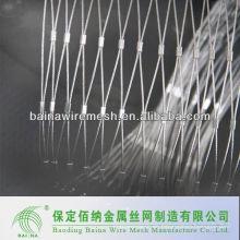 Malla de la hebilla del acero inoxidable de la seguridad / malla de la cuerda hecha en China
