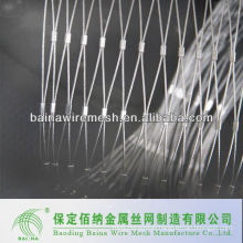 security stainless steel buckle mesh/rope mesh made in china
