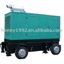 Trailer/mobile diesel generating set