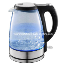GS/CE/CB/SAA/LFGB/RoHS/ERP Certificate 1.7L Electric Glass Kettle