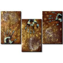 Vente en gros de peinture abstraite peinte à la main