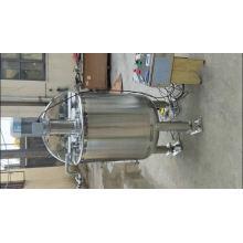 Prix vertical du réservoir de refroidissement du lait horizontal