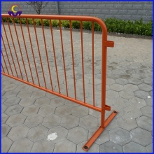 Avtagbar Spray Paint Metal Crowd Control Barrier