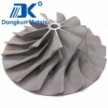 Piezas de fundición de precisión de aluminio para impulsor