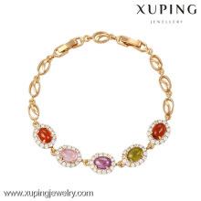 73935 - Xuping ювелирные изделия высокое качество щедрая женщина браслет с 18k позолоченный