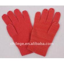 gants d'hiver de cachemire / gant d'hiver de cachemire