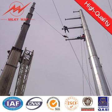 60FT 70FT 90FT poste poligonal octogonal poligonal para la transmisión poste en China