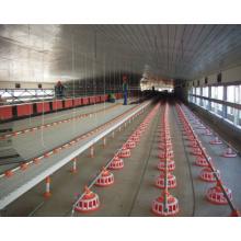 Type de contrôle de l'environnement Maison de poulet avec équipement