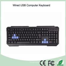 Azerty French Layout Computer USB Wired Keyboard (KB-1688)