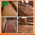 Nature Teak/Ash/Sapele/Beech/Wood Veneer Door Skin