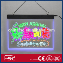 Mini led writing board with CE certificate for noticing customer