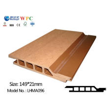 High Quality WPC Wall Panel WPC Cladding Wall Covering with CE SGS ISO Fsc WPC Covering WPC Wall Board Lhma 096
