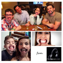Irainy Pack von 20 Dental Wange Retractor Mouth Opener für Watch Ya Mouth Speak out Phrase Kartenspiel Holiday Family Party Gaming-Set
