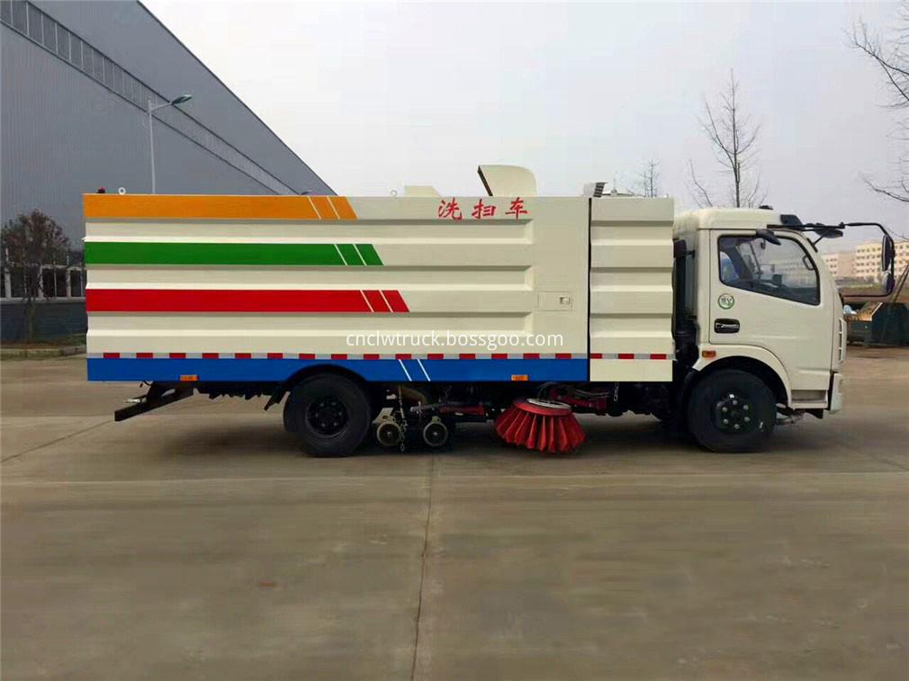 street sweeper vacuum truck 4