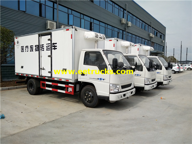 Medical Waste Refrigerated Truck