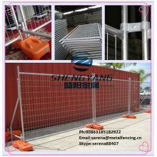 Vente chaude Chine usine Australie style galvanisé panneaux de clôture de fil de construction temporaire
