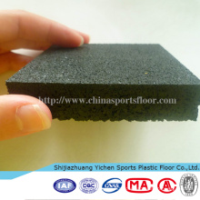 EPDM Rubber Tile Interlocking Rubber Mat Various Color Rubber Floor