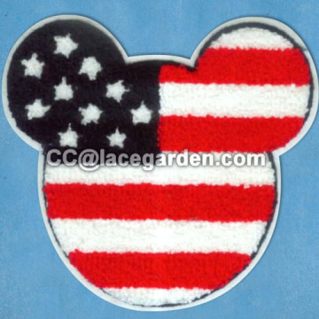 Classical Mickey Mouse Design Chenille\Chain Embroidery Seri