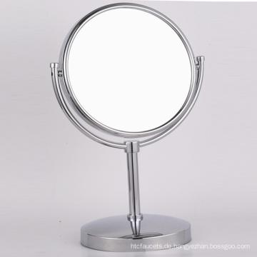 Kupfer Tischständer Make-up Rasierspiegel mit Lupe für Badezimmer