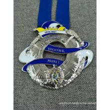 Alta Qualidade 3D Die Casting Esmalte Medal