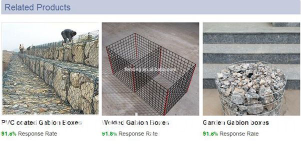 hexagonal mesh Gabion box